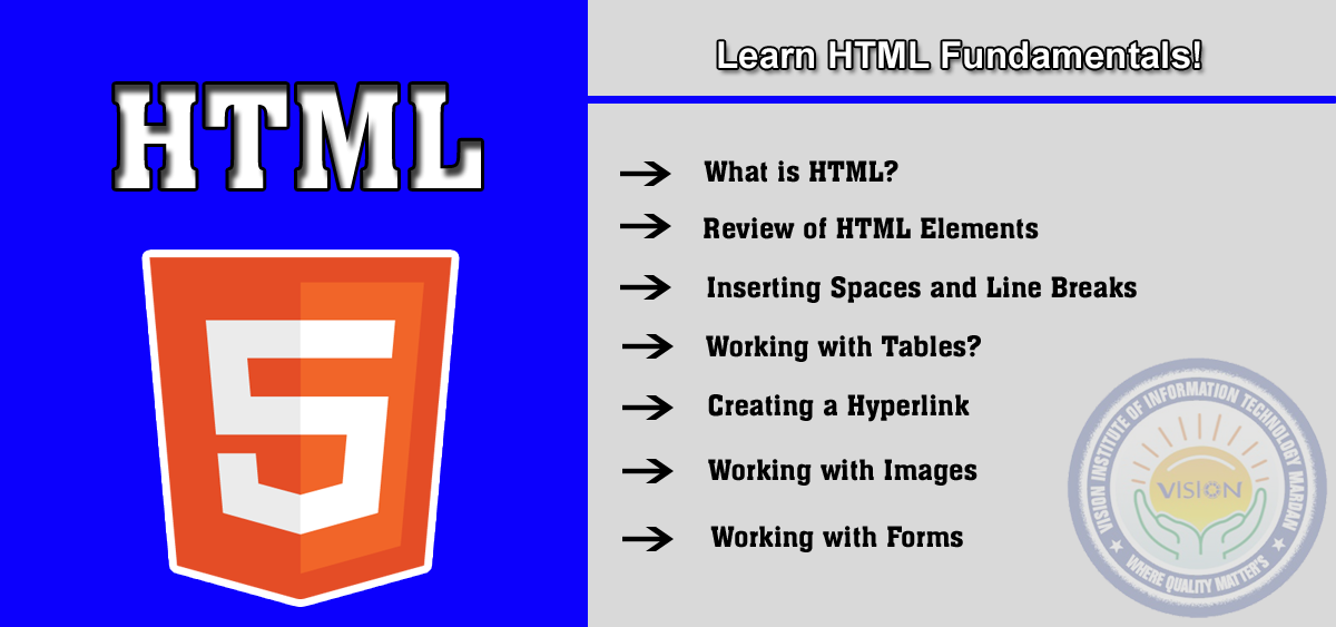 Learn HTML in web designing