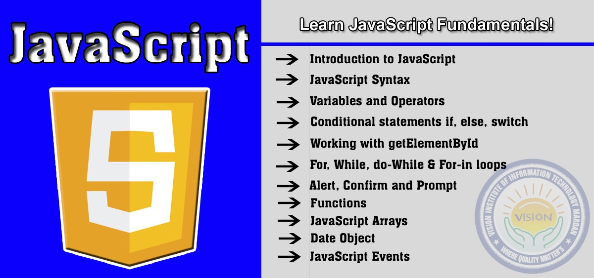 Learn javascript in web designing