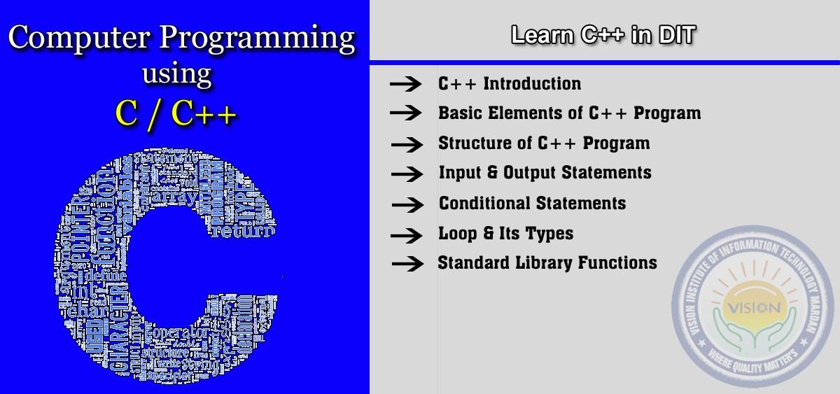 Learn C++ Programming in D-I-T