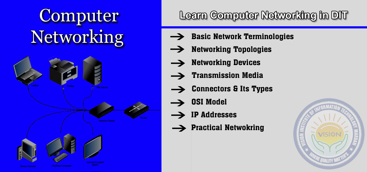 Learn Computer Networking in D-I-T