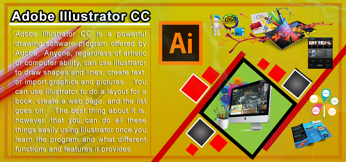 Learn Illustrator in Graphics Designing