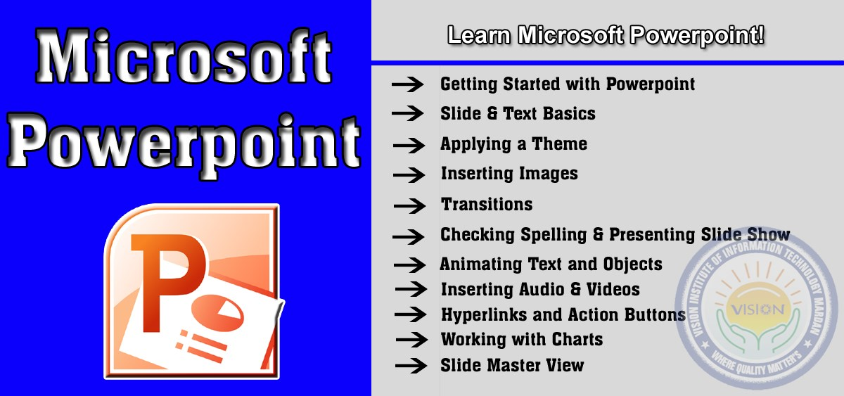 Learn Microsoft Powerpoint in Computer Essential Training (CET)