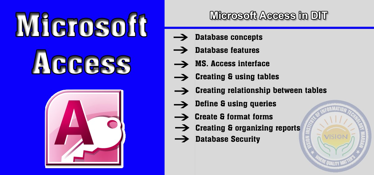 Learn Microsoft Access in D-I-T