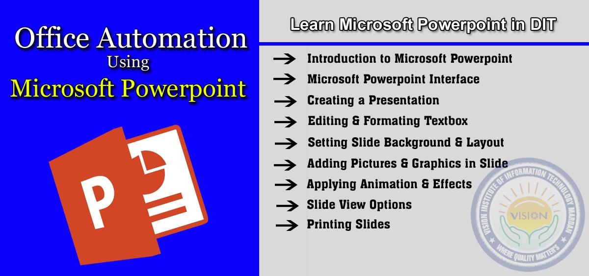Learn Microsoft Powerpoint in D-I-T