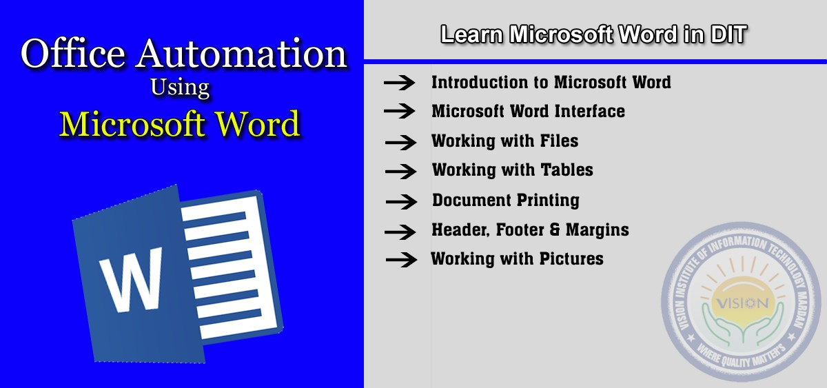 Learn Microsoft Word in D-I-T