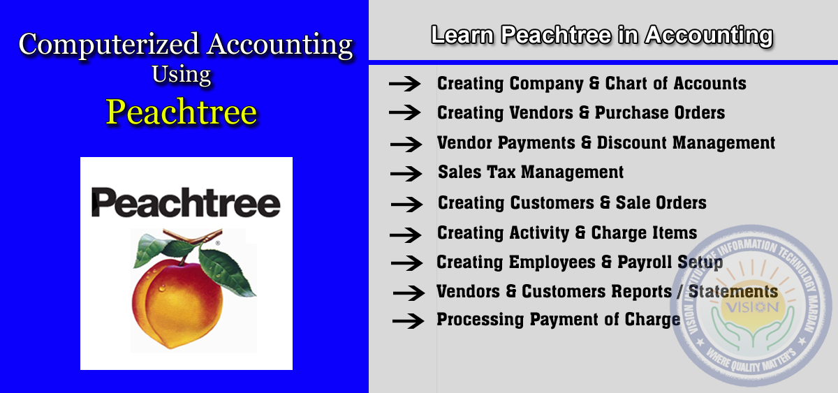 Learn Peachtree in Computerized Accounting
