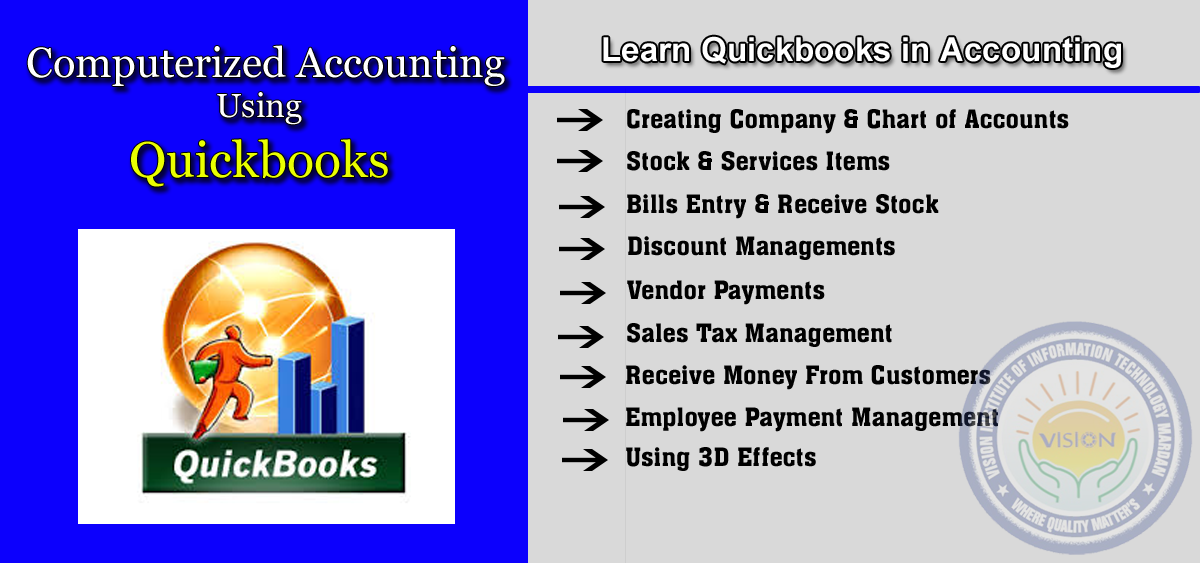 Learn Quickbooks in Computerized Accounting