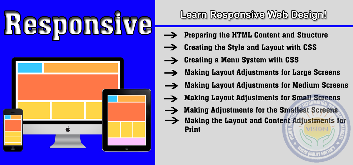 Learn responsive web design